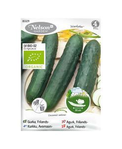 Frö fröer Gurka, Frilands-, Marketer, Organic