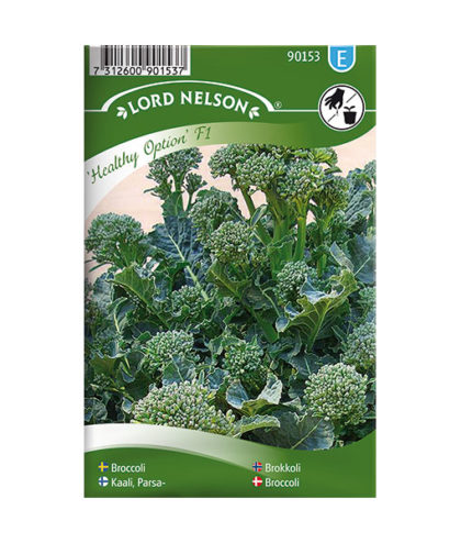 Frö fröer Broccoli, Healthy Option F1
