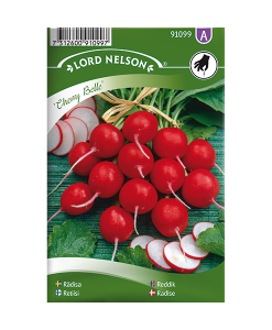Frö fröer Rädisa, Cherry Belle, rund