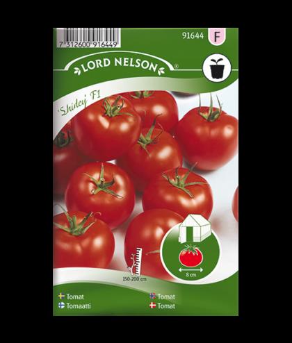 Frö fröer Tomat, Shirley F1
