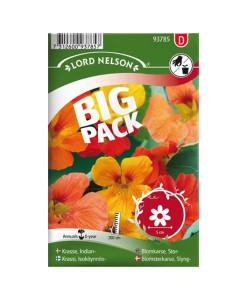 Frö fröer Krasse, Slinger-, bl färger Big Pack