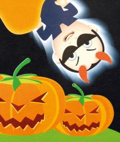 Frö fröer Halloweenpumpa